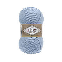 Пряжа  Alize Alpaca RoyaL 356 голубой (Альпака Роял)