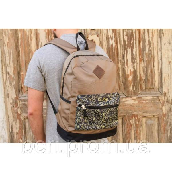 Рюкзак Big Shark Brown коричневый 947