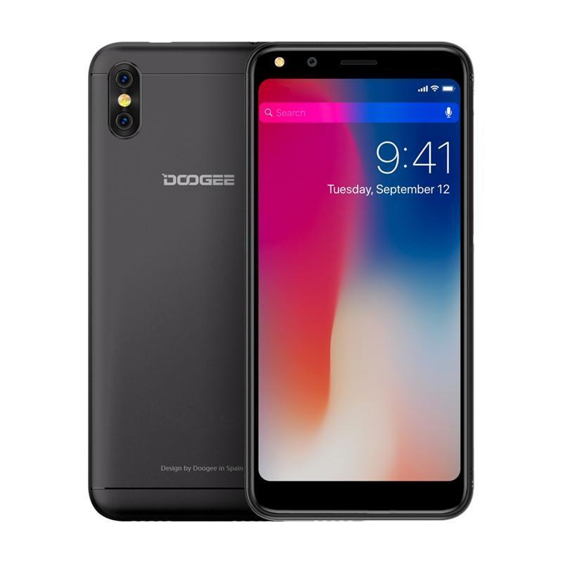 Смартфон Doogee X53 Dual Sim Matte Black (692435163408)