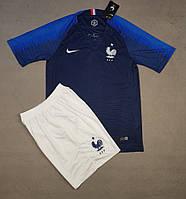 Футбольная форма сборной Франции сезон 2018 (синяя)