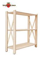Модный стеллаж для дома, офиса или бутика LOFT-340 ВхШхГ: 827х780х400мм