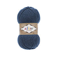 Пряжа  Alize Alpaca RoyaL 381 джинс (Альпака Роял)