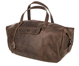 42bc5e842cff Дорожная кожаная сумка Level Крокодил brown коричневый 53 л