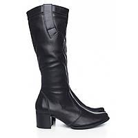 Стильные женские сапоги от производителя кожаной обуви размеры 39,40 65b14fc55e9