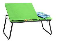 Накроватный столик для ноутбука NT03 зеленый