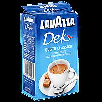 Кофе молотый Lavazza Decaffinato 250г 40/60
