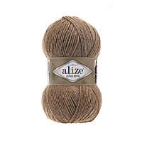 Пряжа  Alize Alpaca RoyaL 466 карамель (Альпака Роял)