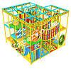 Детский игровой лабиринт «Апельсинка», 4*4 клетки