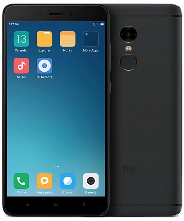 Xiaomi Redmi Note 4 3/32Gb Black (HST2018100314)