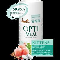 Полнорационный сухой корм Optimeal для котят - курица, 650 г