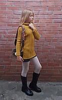 В'язані светри туніки для дівчаток