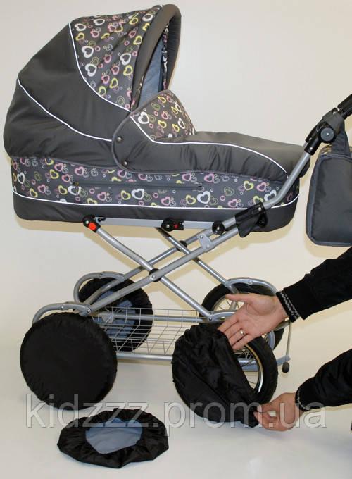 Чехлы-комплект на колеса Ok Style диаметром 30-40см обычные