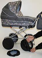 Чехлы-комплект на колеса Ok Style диаметром 30-40см обычные, фото 1