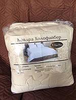 Одеяло Холлофайбер Евро   Тёплое одеяло Холлофайбер в микрофибре 200*220см