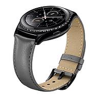 Ремінець для смарт-годин SAMSUNG Leather Band for Gear S2 Classic (Gray) (ET-SLR73MSEGWW)