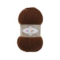 Пряжа  Alize Alpaca RoyaL 690 кирпичный меланж (Альпака Роял)