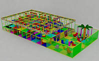 Детский игровой лабиринт с пристройкой 10х7х2.5, фото 1