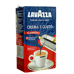 Кофе молотый Lavazza Сrema e Gusto Blue 30/70 250г