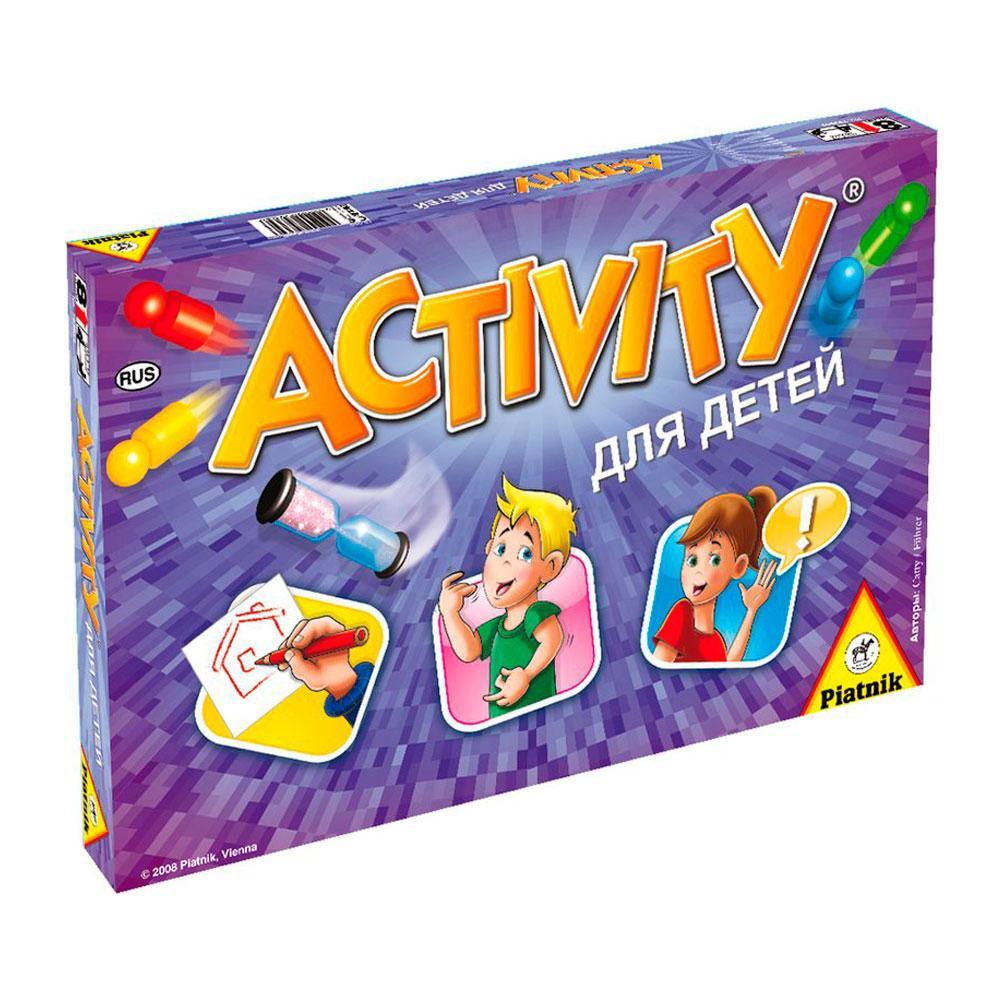 Настольная игра Activity для детей. Оригинал Активити Piatnik 793646 (Австрия)
