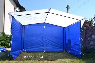 Торговая палатка 4 х 2 м 3x3