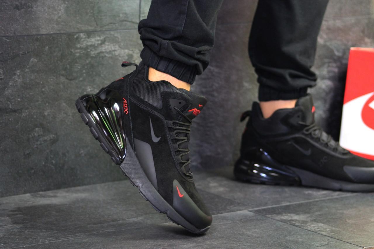 a61424cc6147 Зимние кроссовки Nike Air Max 270, артикул  6521 Черные - Интернет-магазин  обуви
