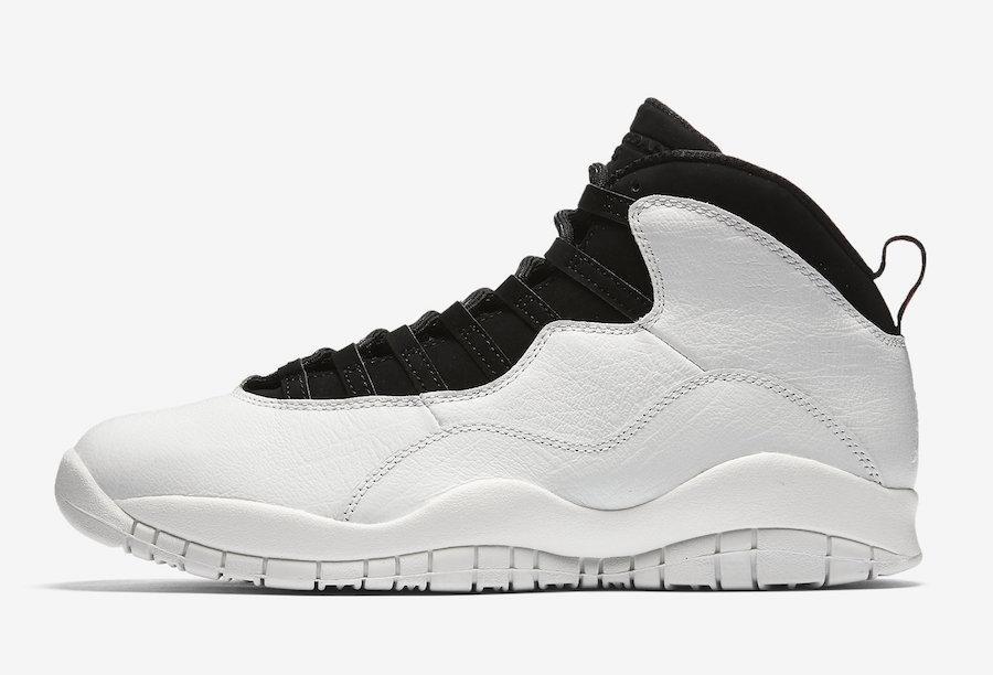 "Кроссовки Air Jordan 10 Retro I'm Back ""White/Black"" (Белые/Черные)"