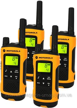Рации Motorola TLKR-T80EXT WE QUAD