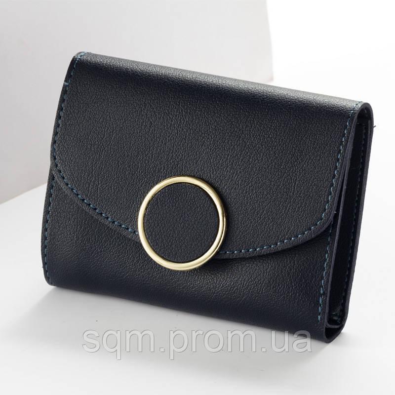 ff0698fad6f3 Женский кошелек BAELLERRY Woman Mini кожаное портмоне на кнопке Черный  (SUN0547)