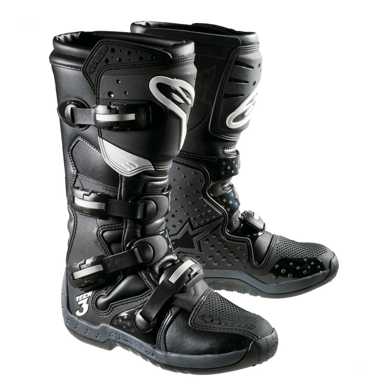"Мотоботы Alpinestars TECH 3 ""44"" black"