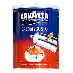 Кофе молотый Lavazza Сrema e Gusto 30/70 ж/б 250г
