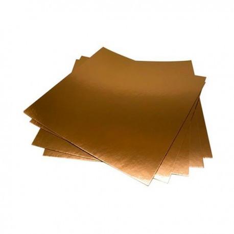Подложка квадратная зол/сереб 25х25 см