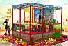 """Детский игровой лабиринт """"Карапузик"""" 3,75x2,5x2,8 м."""