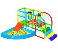 Детский игровой лабиринт «Малютка», 1*3 клетки