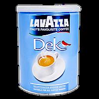 Кофе молотый Lavazza Decaffinato 40/60 ж/б 250г