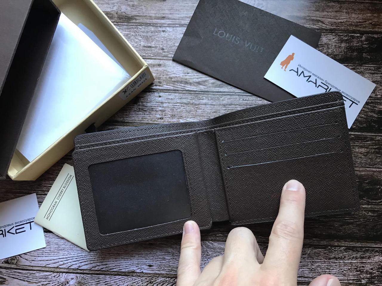 8df49709e7bc Кошелек клатч портмоне бумажник коричневый мужской женский Louis Vuitton  премиум реплика, цена 522,50 грн., купить Одеса — Prom.ua (ID#677510423)