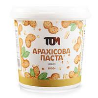 Арахисовая паста ТОМ - Кранч (1000 грамм)