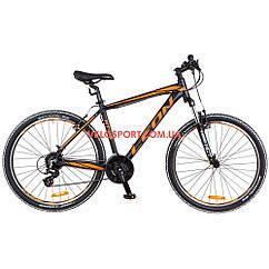 Горный велосипед Leon HT-85 26 дюймов черно-оранжевый