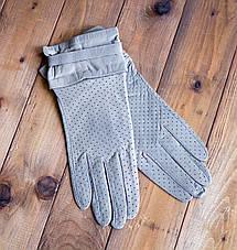 Женские кожаные перчатки Средние, фото 2