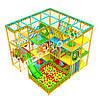 Детский игровой лабиринт «Апельсинка», угловой, 4*4 клетки