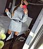 Туника плотной объёмной турецкой вязки Турция. Размер единый 42-46. Цвет: серый. (5167), фото 3