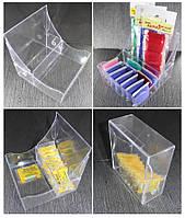 Органайзер пластиковый прозрачный. Размеры 101х104х43мм