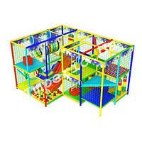 """Детский игровой лабиринт """"Угловой"""", 3х4 клетки, фото 1"""