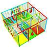 Детский игровой лабиринт «Сетчатый», 3*3 клетки