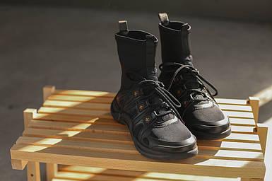 Женские кроссовки Louis Vuitton LV  Sneaker  Black