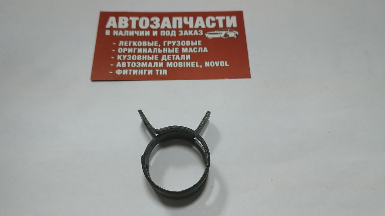 Хомут пружинный Д=28 мм