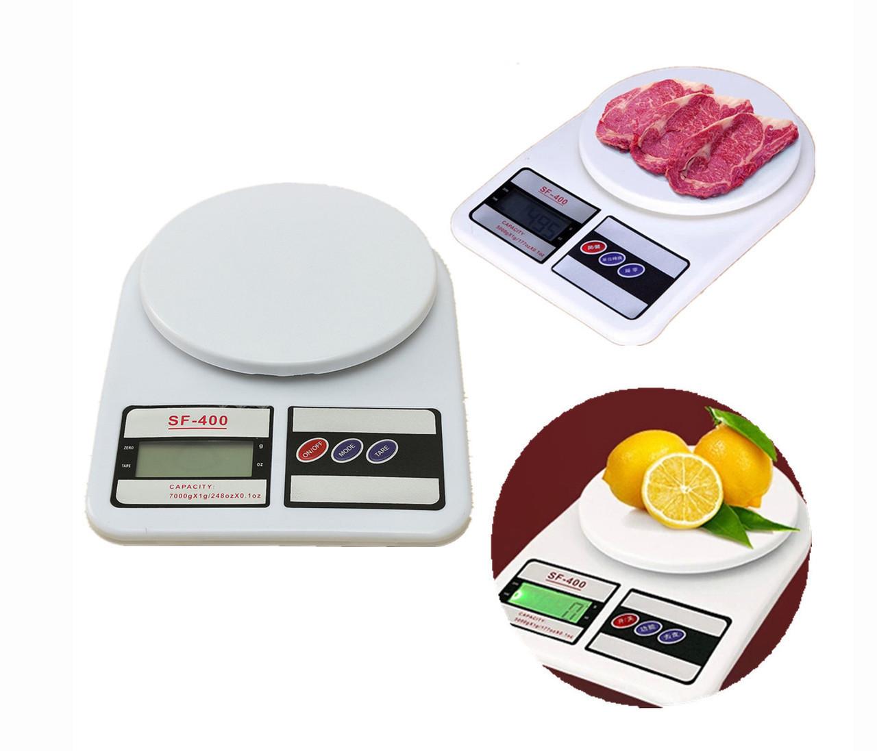 Кухонные весы до 10 кг с LCD дисплеем