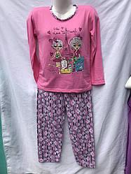 """Пижама детская (байка) на девочку (5-14 лет) Kandy"""" RS2-1718"""