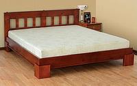 Ліжко двоспальне 160*200 з натурального дерева Ярина Летро