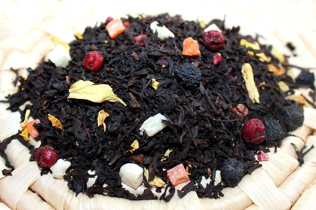 Чай с добавками черный