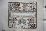 Схема для вышивки крестиком Rosewood Manor Flowers, Plants & Fishes, фото 2